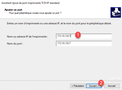 Printer's IP