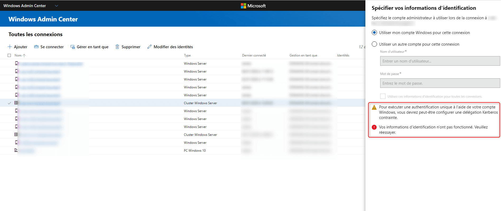 Admin Center : configurer le SSO avec une configuration en passerelle