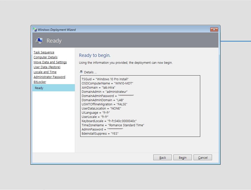 MDT – Installation et configuration – Microsoft Deployment Toolkit