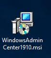 Admin Center MSI