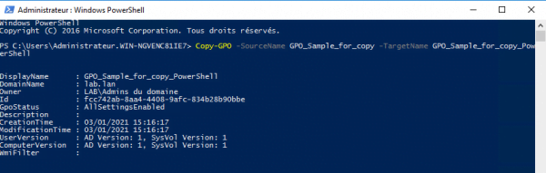 copy group policy