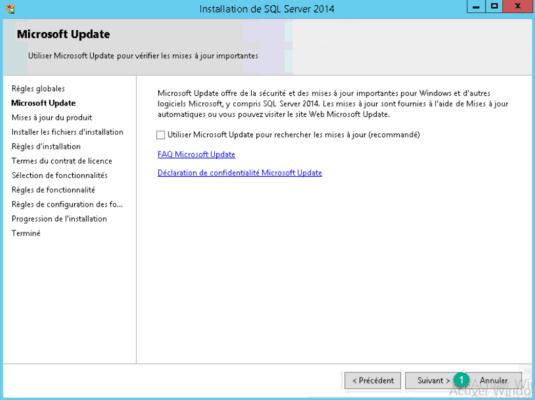 sqlexpress install auto update