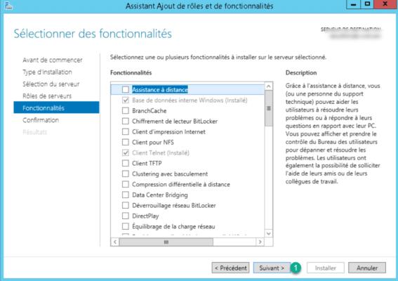 Fonctionnalité Windows
