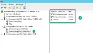 TCP IP active sql server