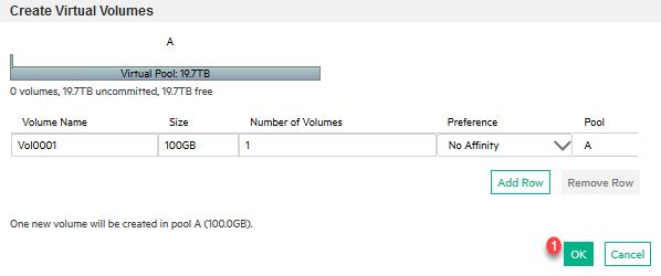 Création de volumes