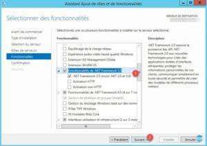 Fonctionnalité : .NET Framework