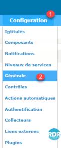 Configuration générale