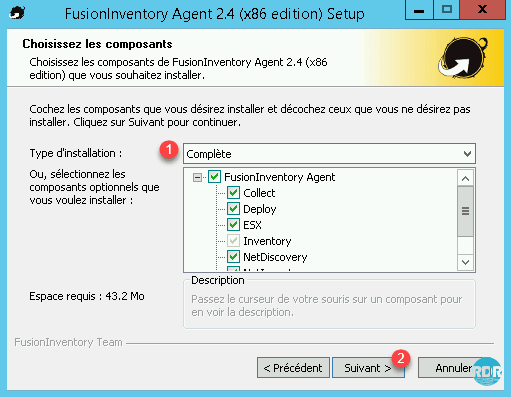 fusioninventory agent windows