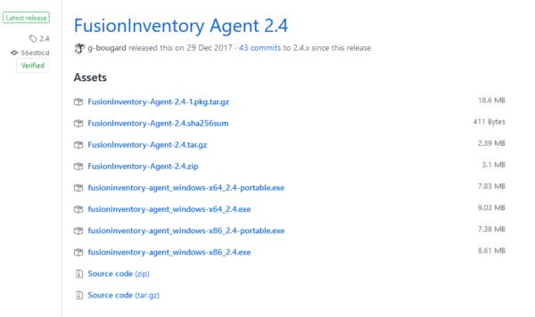 Liste des agents
