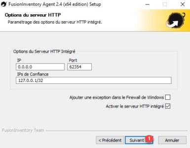 Serveur web integré