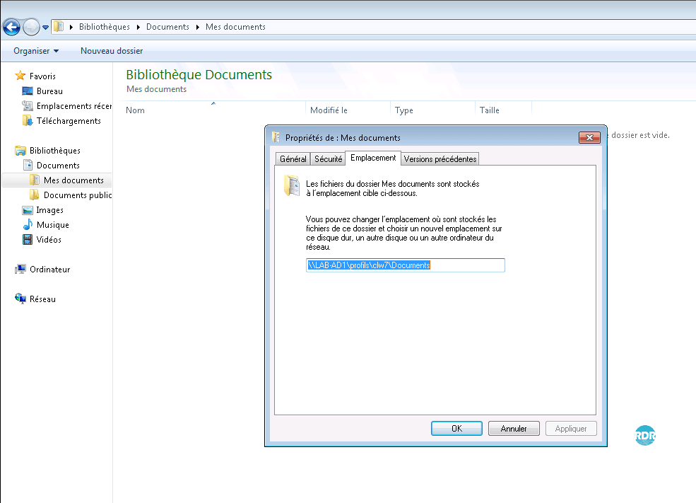 Windows 7 : suppression du mode en hors ligne