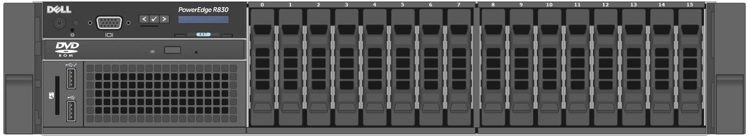 dell-poweredge-rackservers_R830-Front-Open
