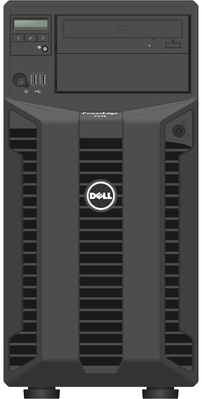 dell-poweredge-towerservers_T310-Tower-Front-LCD