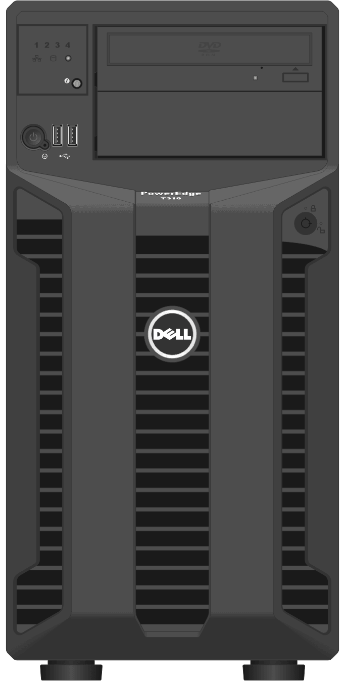 dell-poweredge-towerservers_T310-Tower-Front-LED