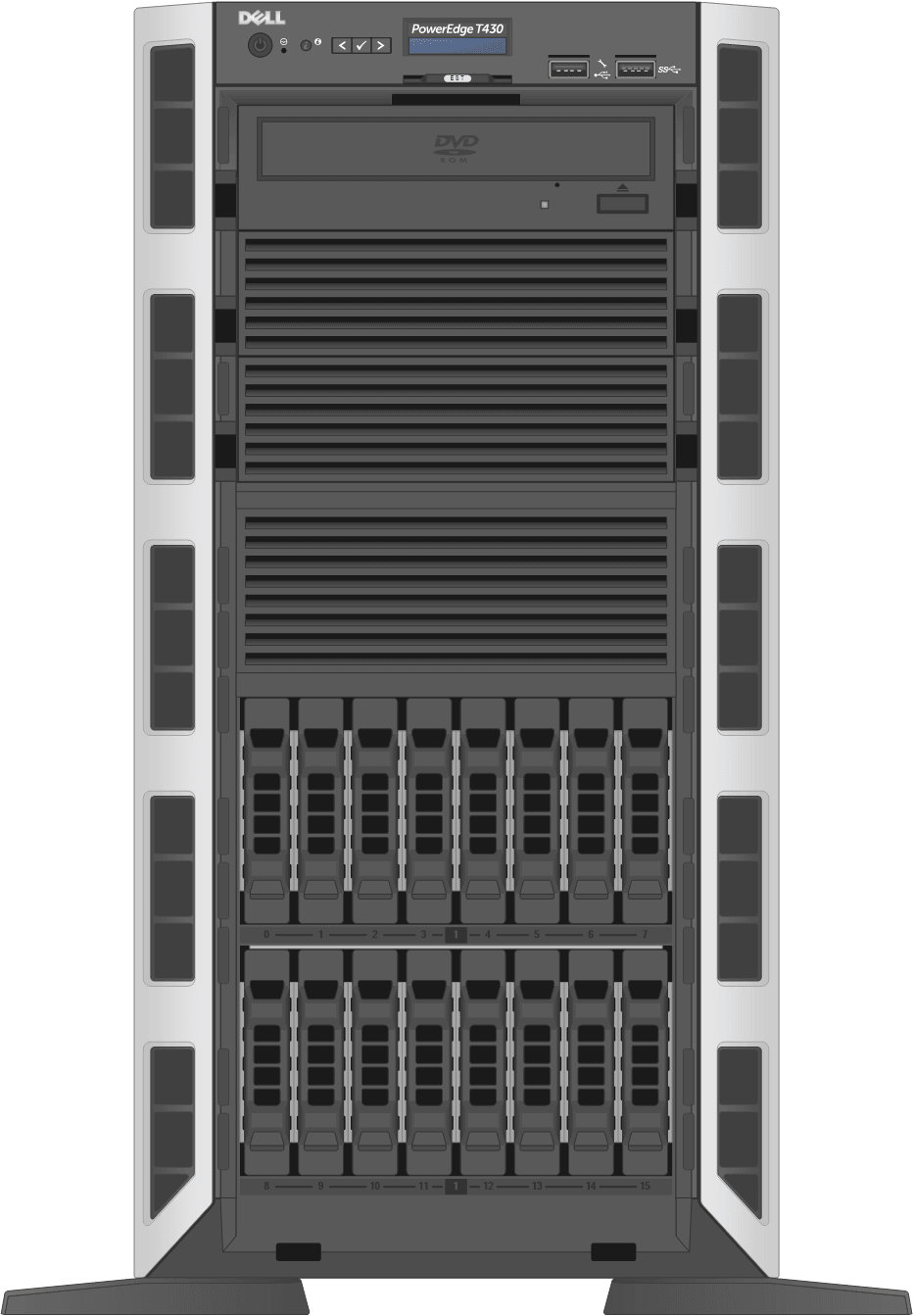 dell-poweredge-towerservers_T430-16D-Front-Open