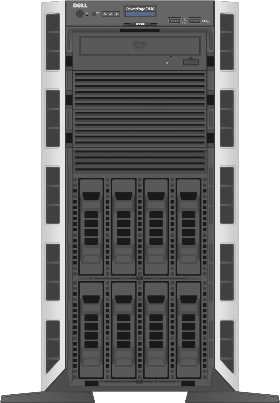 dell-poweredge-towerservers_T430-8D-Front-Open