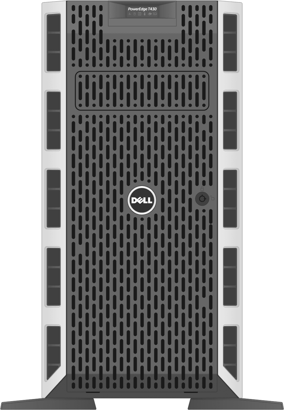 dell-poweredge-towerservers_T430-Cbl-Front-Bezel