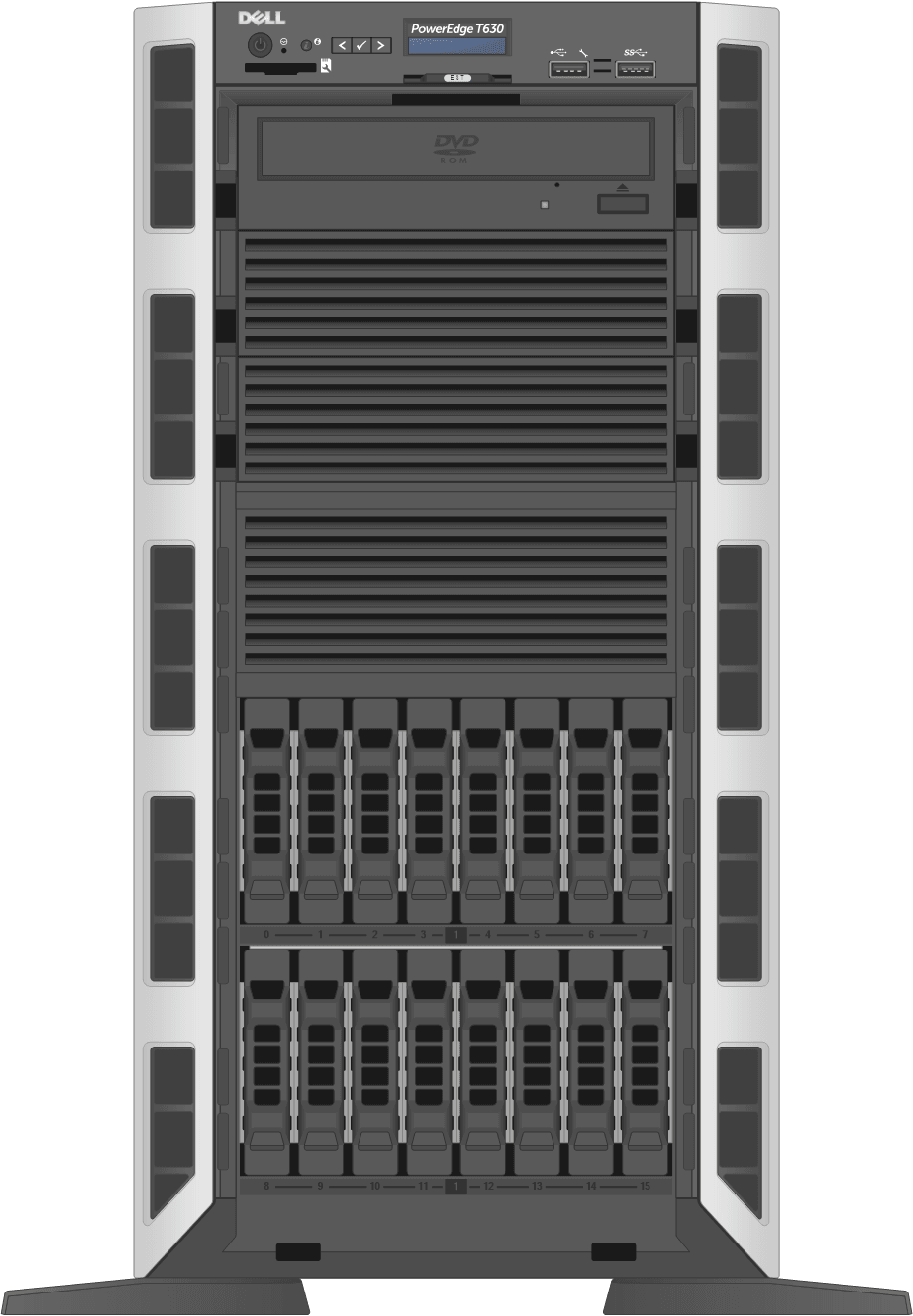 dell-poweredge-towerservers_T630-16D-Front-Open