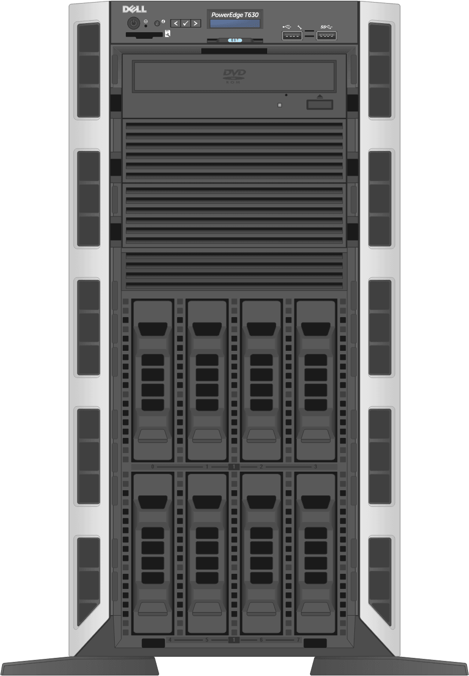 dell-poweredge-towerservers_T630-8D-Front-Open