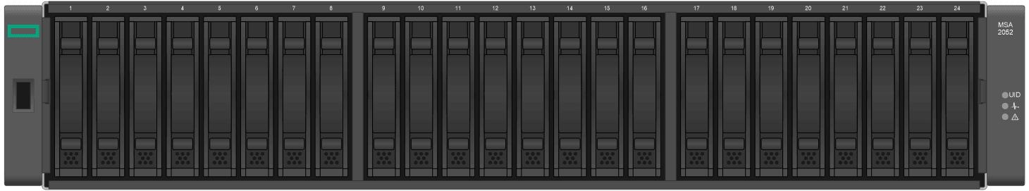 hpe-disk-msa_MSA-2052-SFF-front