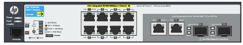 hpe-networking-2xxx-switches_J9774A-2530-8G-PoE-front